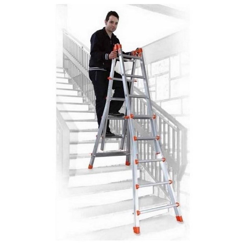 Comprar comprar escaleras telescopicas y multiusos al for Escalera multiusos
