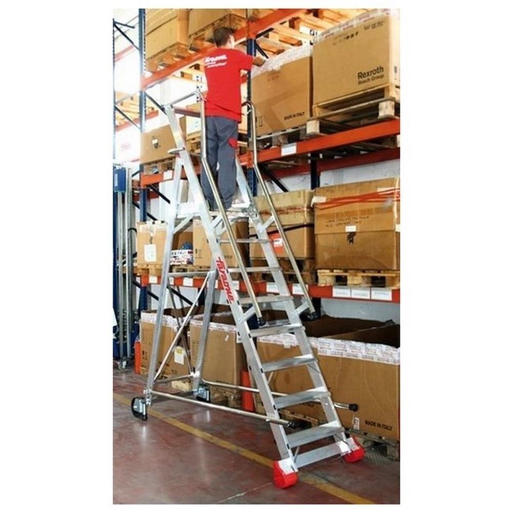 Comprar escaleras con plataforma for Escaleras con plataforma precios