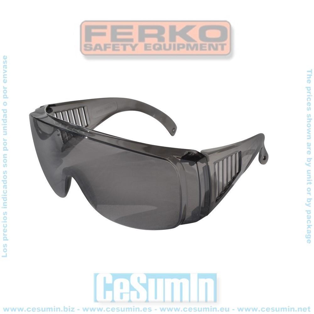 FERKO F-142/2010S - Gafa mono lente gris en policarbonato.
