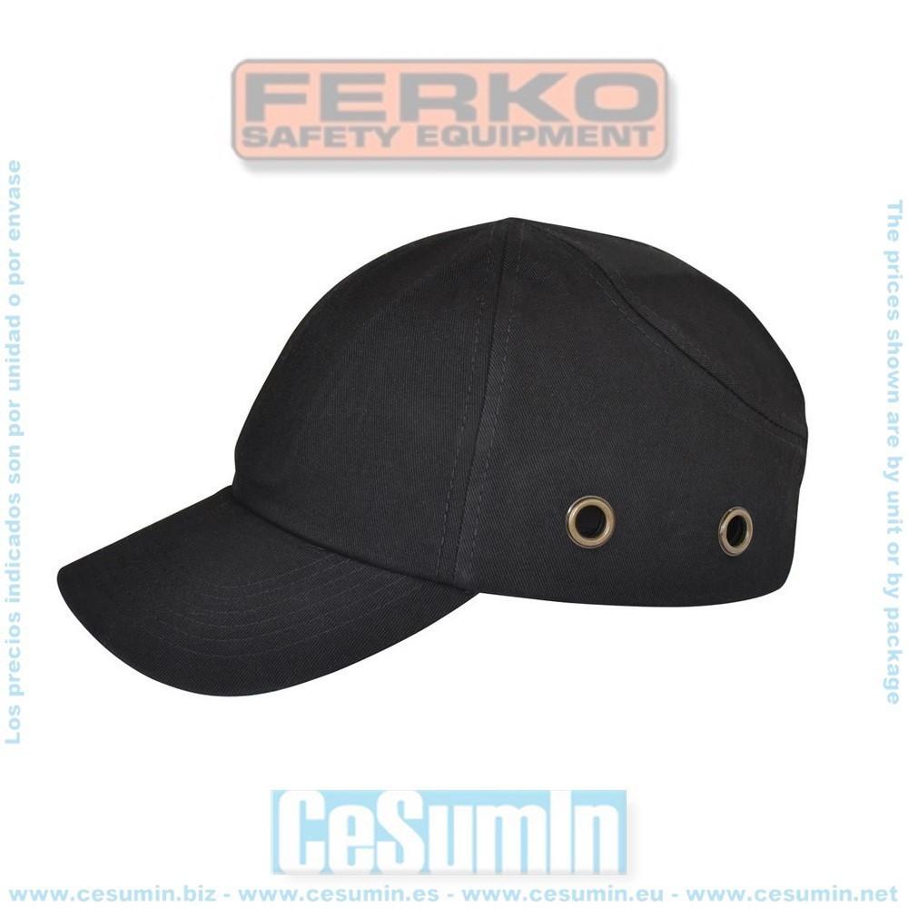 "FERKO F-142/110-15 - Gorra casco. tipo ""beisbol"""