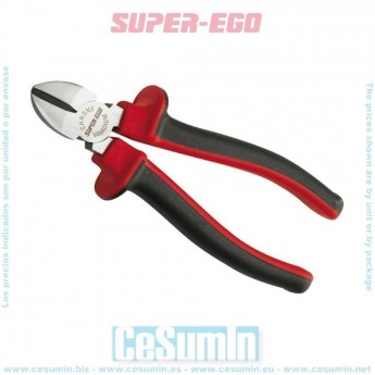 SUPER-EGO 514011200 - Alicate corte diagonal 180 mm refz