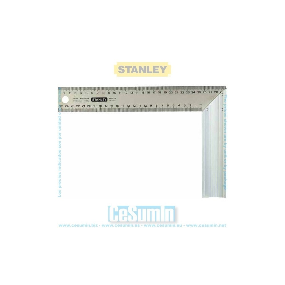 STANLEY 1-45-685 - Escuadra carpintero 140x250 mm