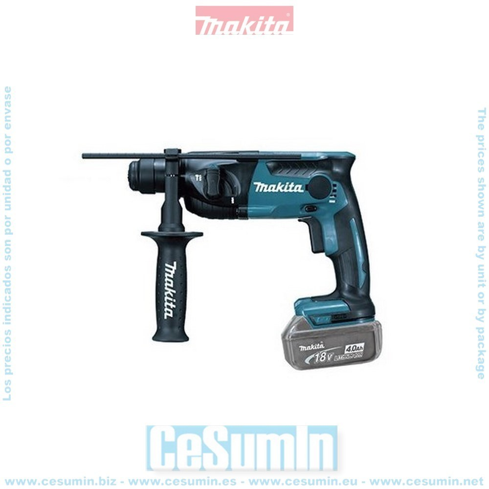 Makita DHR165Z Martillo ligero a bateria 18v sds-plus litio 165 mm sin bateria ni cargador