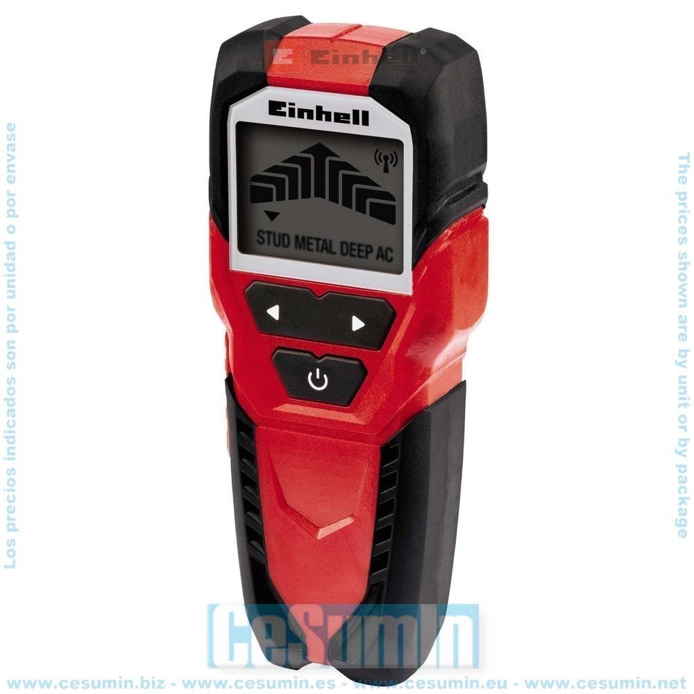 EINHELL 2270090 - Detector digital Metal y madera TC-MD 50