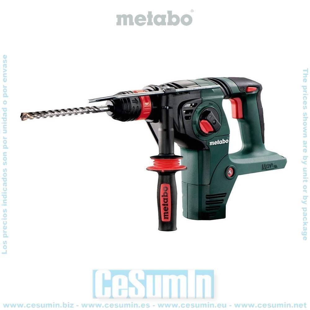 Metabo 600795840 Martillo combinado SDS Plus a bateria 36VAh Li-Ion KHA 36 LTX Con maletín