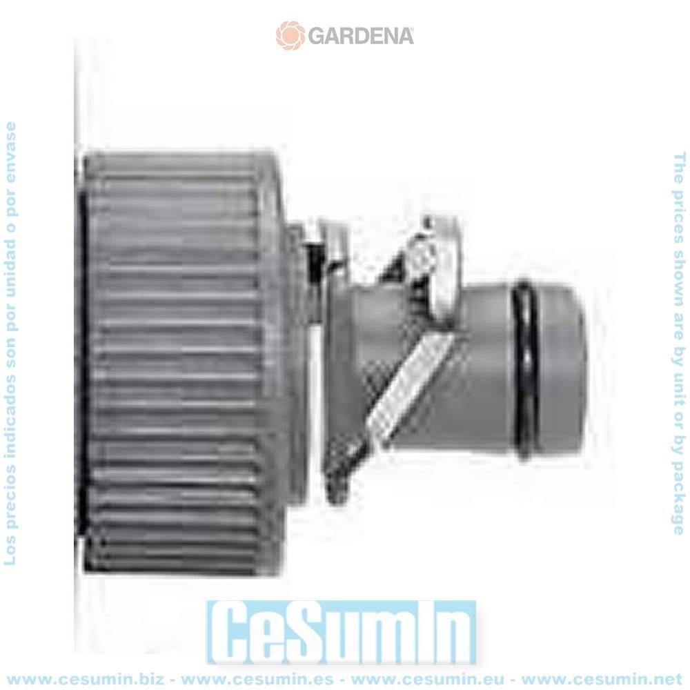 Gardena 1352-29 Macho para grifo Micro Drip Para conectar un tubo instalacion 13mm a grifo rosca ext 3 4