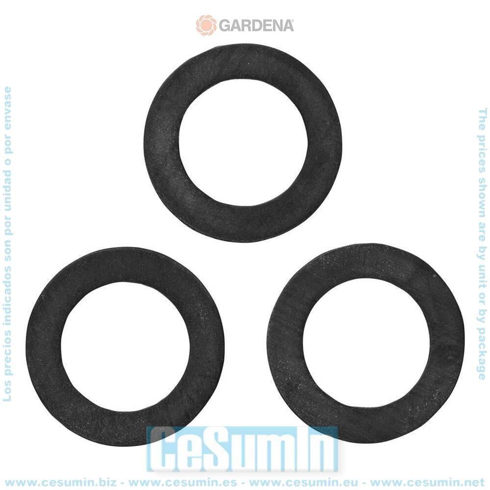 Gardena 5301-20 Junta plana Contenido 3 uds Para OGS