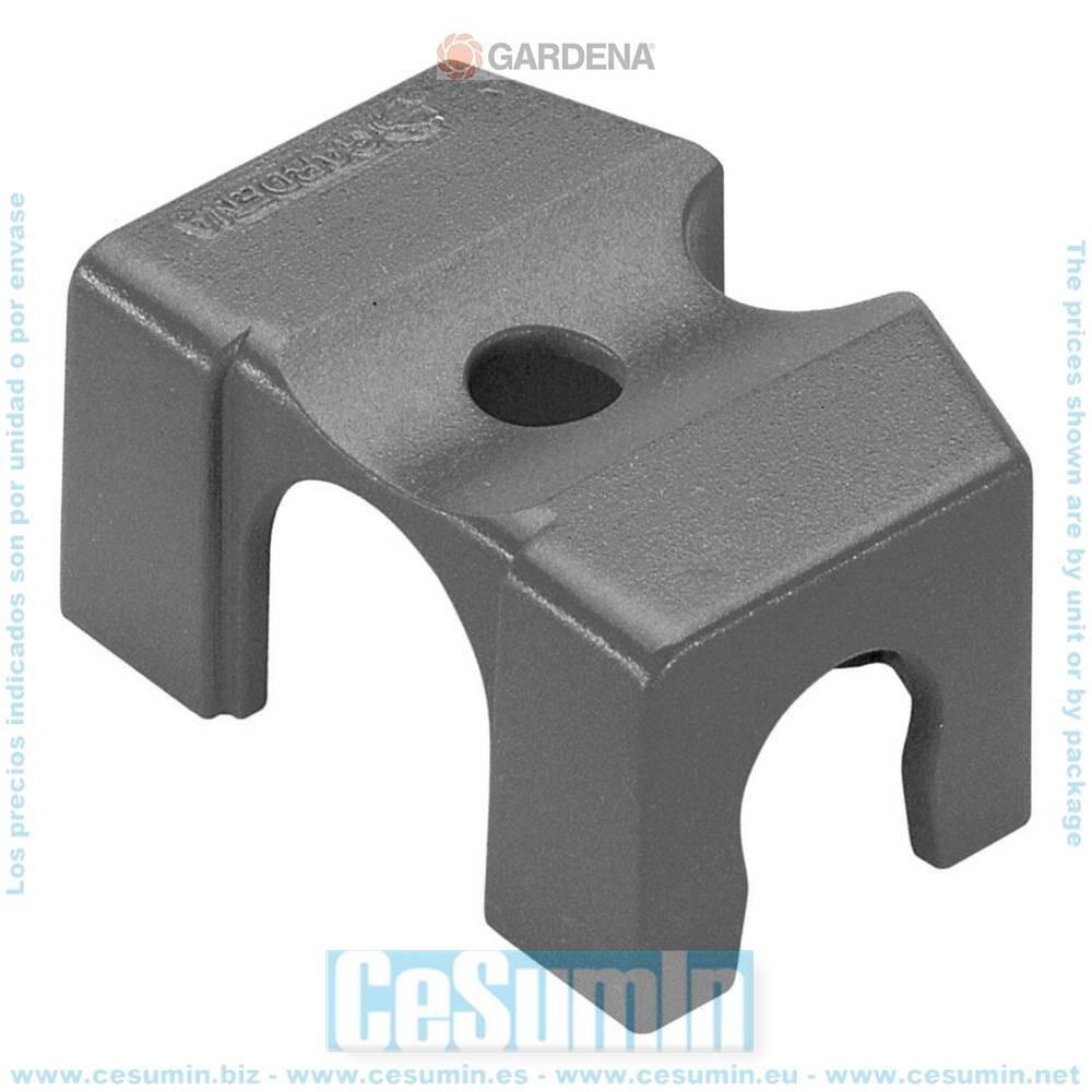 Gardena 8380-29 Caballete 13mm Para tubo Micro drip 13mm Blister 5 caballetes